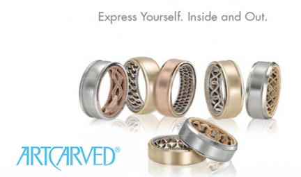 ArtCarved Men's Bands